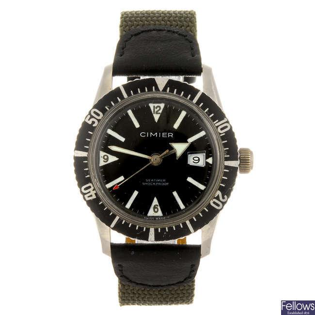 CIMIER - a gentleman's Seatimer wrist watch.