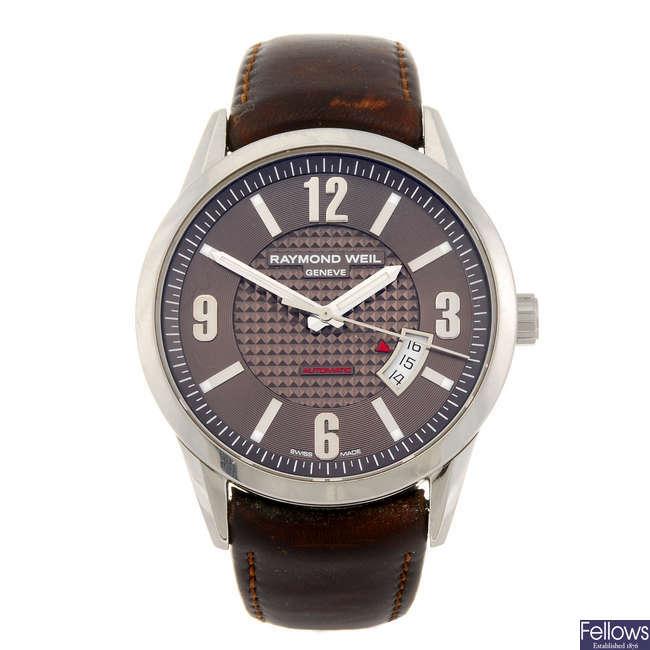 RAYMOND WEIL - a gentleman's Freelancer wrist watch.