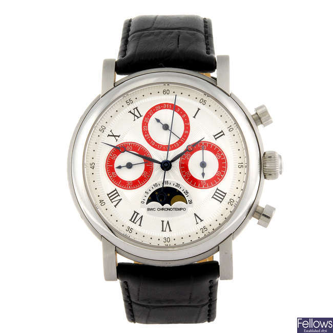 BELGRAVIA WATCH CO. - a limited edition gentleman's Chronotempo chronograph wrist watch.