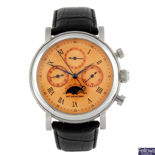 BELGRAVIA WATCH CO. - a limited edition gentleman's Chrono Tempo chronograph wrist watch.