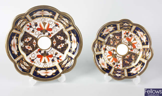 Six items of Royal Crown Derby