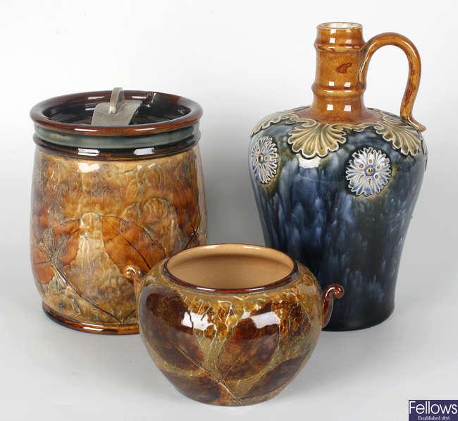 A selection of ceramic items