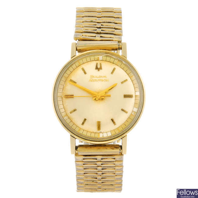 BULOVA - a gentleman's Accutron bracelet watch.