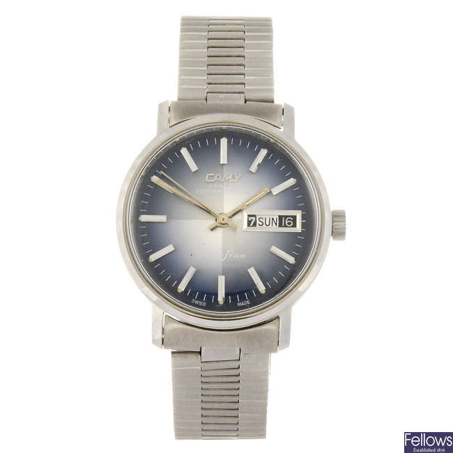 CAMY - a gentleman's Clubstar bracelet watch with another example