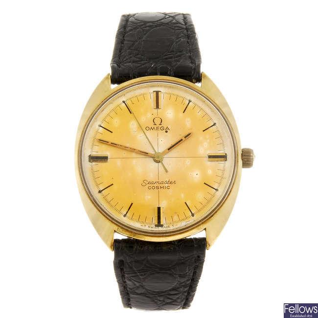 OMEGA - a gentleman's Semaster Cosmic wrist watch.