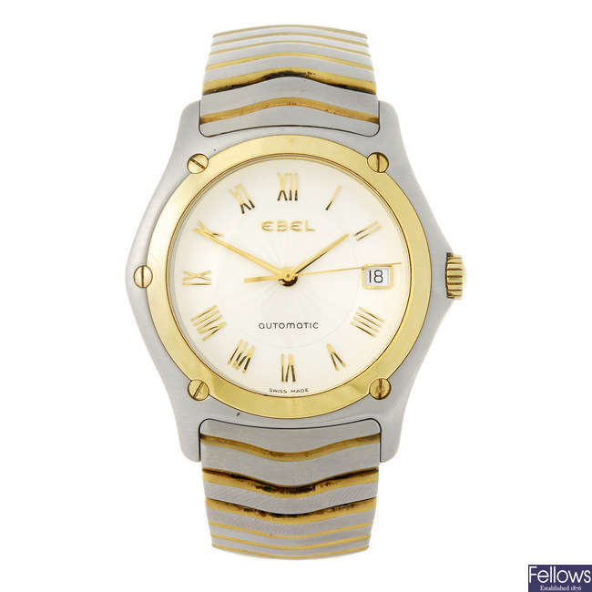 EBEL - a gentleman's Classic Wave bracelet watch.