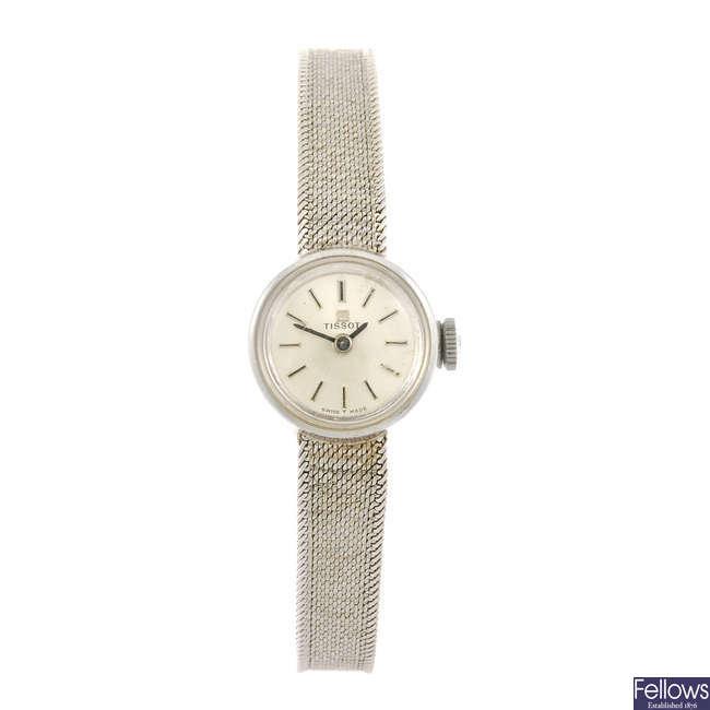 OMEGA - a lady's Geneve wrist watch