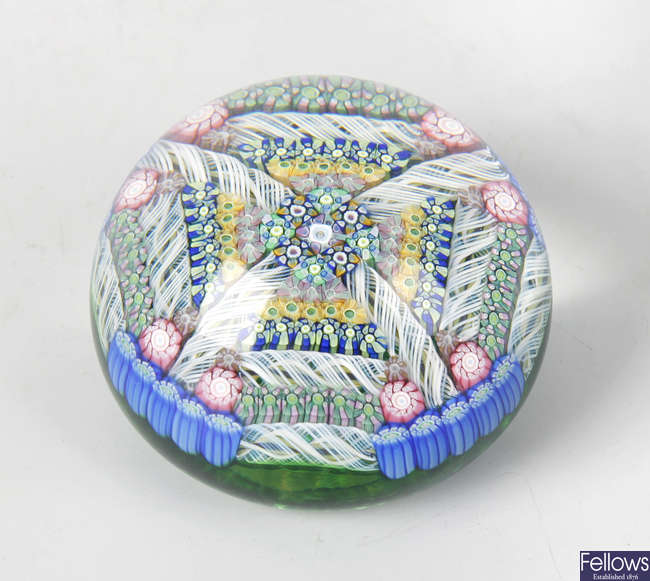 A Perthshire limited edition paperweight
