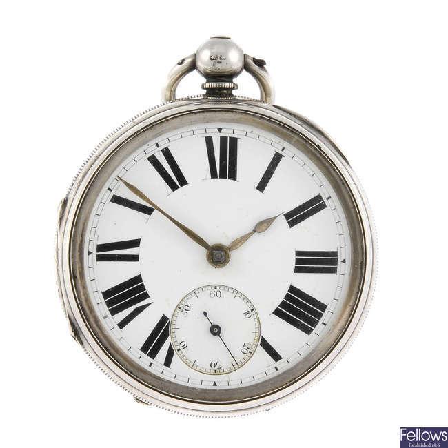 An open face pocket watch by Rudelsheim.