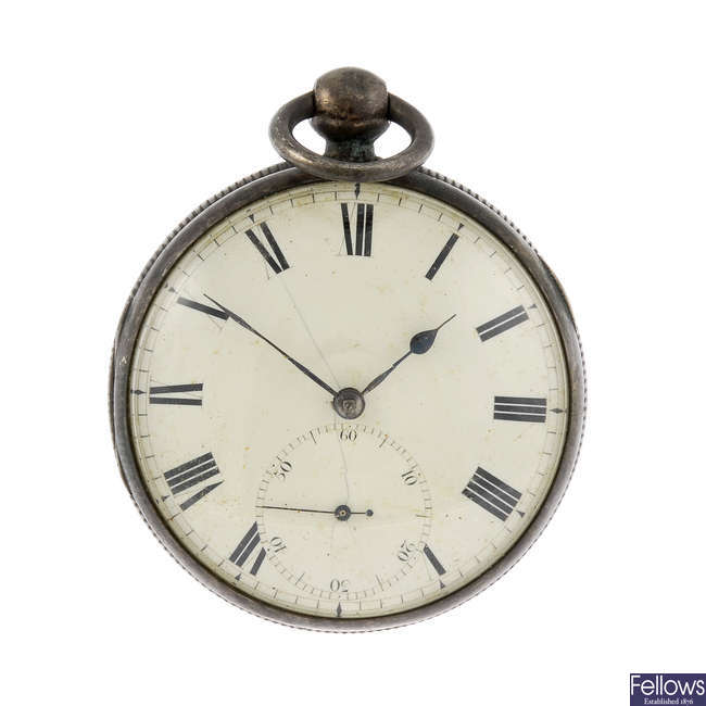An open face pocket watch by George Morris, Liverpool.