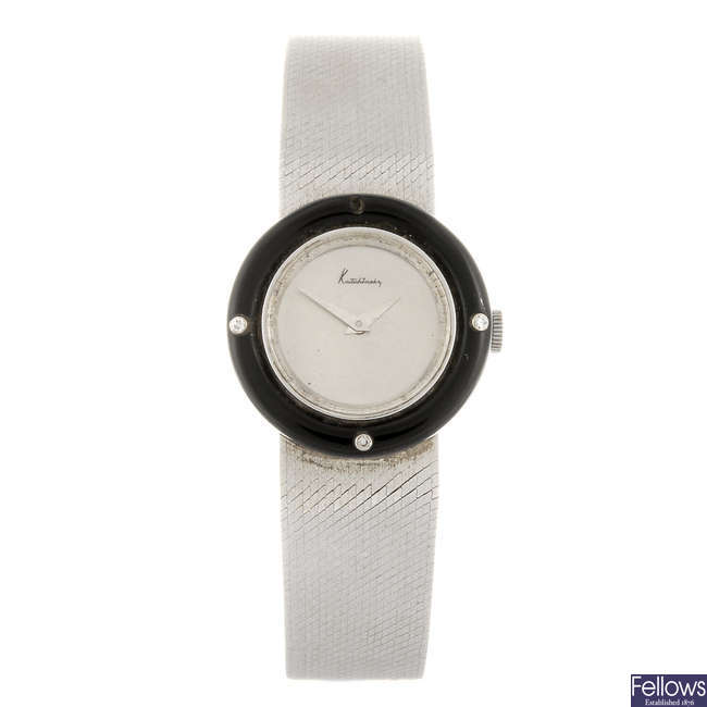 KUTCHINSKY - a lady's bracelet watch.