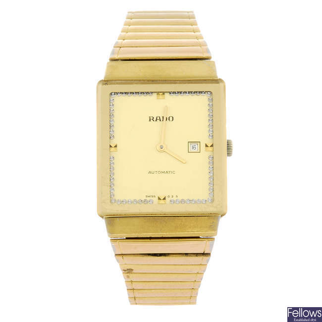 RADO - a gentleman's bracelet watch.