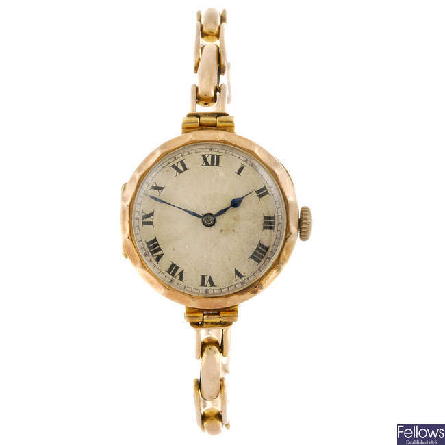 WESTA - a lady's bracelet watch with another lady's bracelet watch.