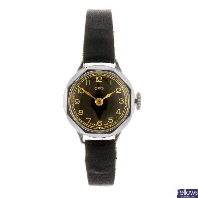ORIS - a lady's wrist watch.