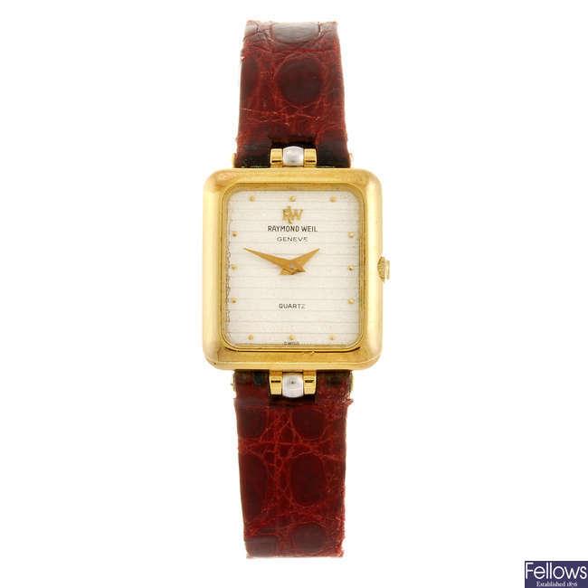 RAYMOND WEIL - a lady's wrist watch.