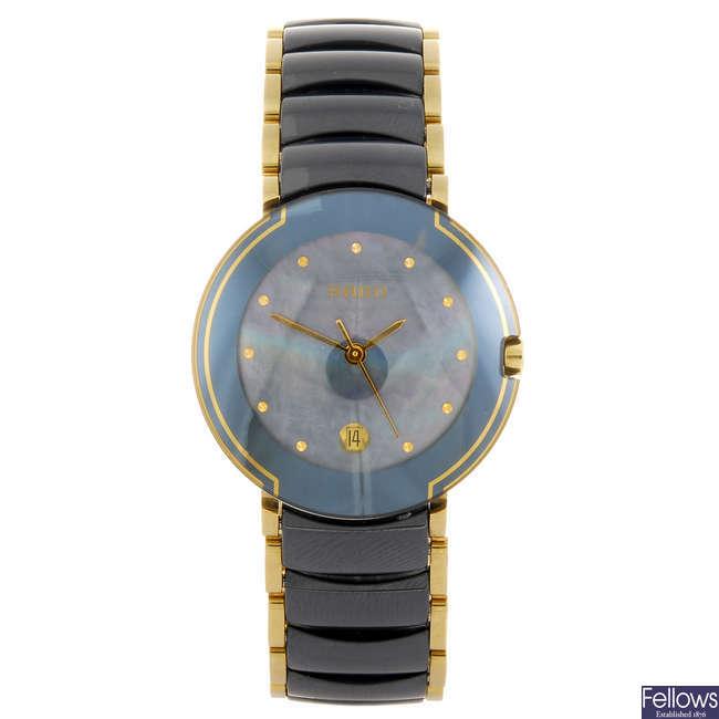 RADO - a lady's Jubile Coupole Ceramica bracelet watch.