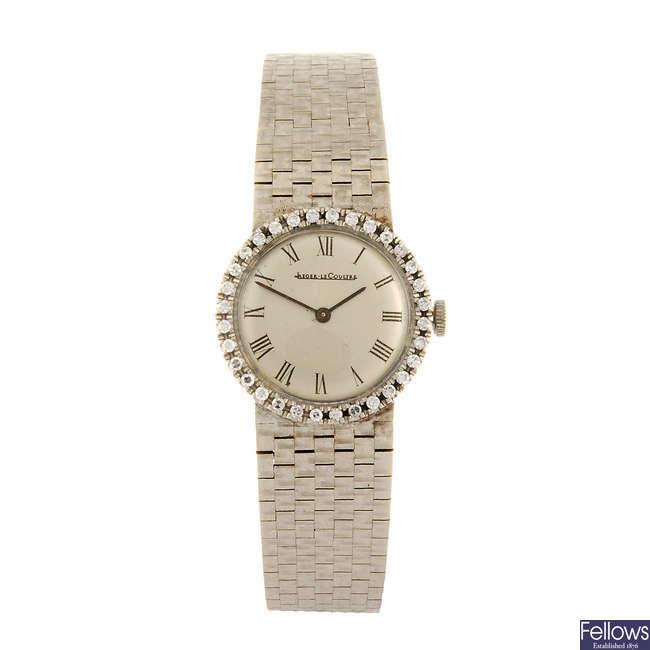 JAEGER-LECOULTRE - a lady's bracelet watch.