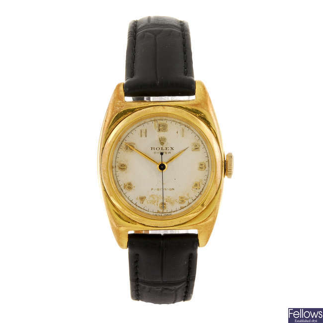 ROLEX - a gentleman's Oyster Precision wrist watch.