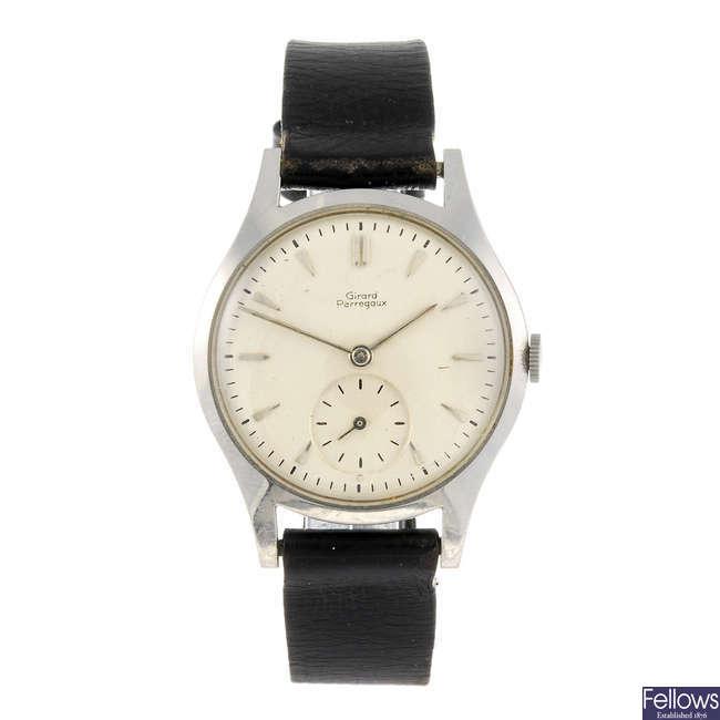 GIRARD PERREGAUX - a gentleman's wrist watch.