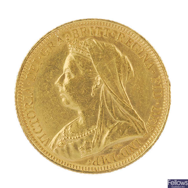 Victoria, Sovereign 1893S.