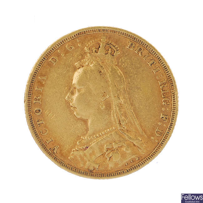 Victoria, Sovereign 1890S.