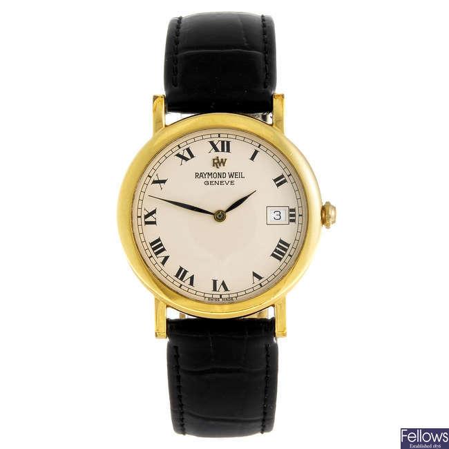 RAYMOND WEIL - a gentleman's Geneve wrist watch