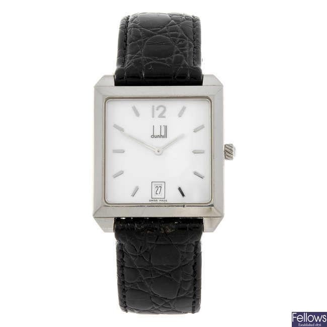 DUNHILL - a gentleman's wrist watch.