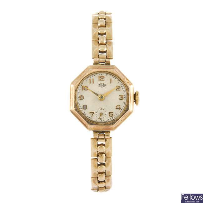 DERRICK - a lady's bracelet watch.