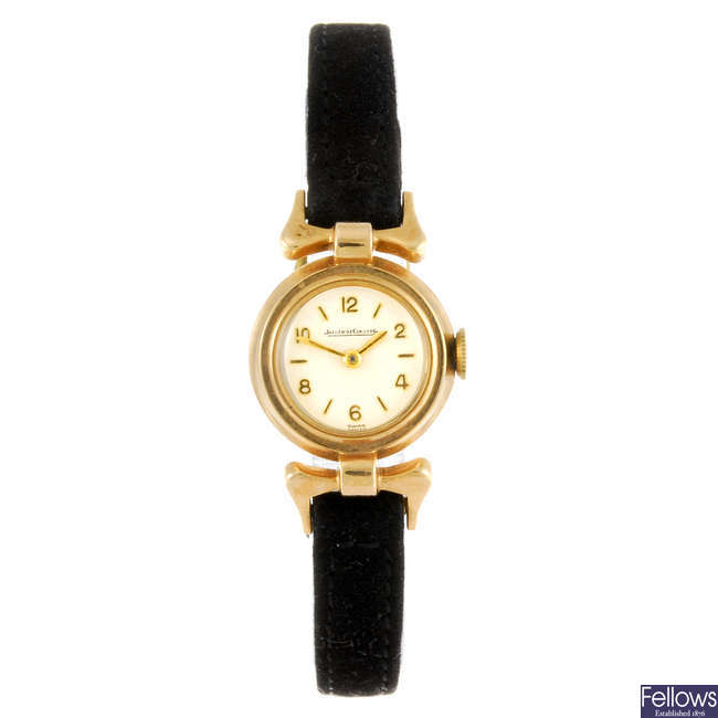 JAEGER-LECOULTRE - a lady's wrist watch.