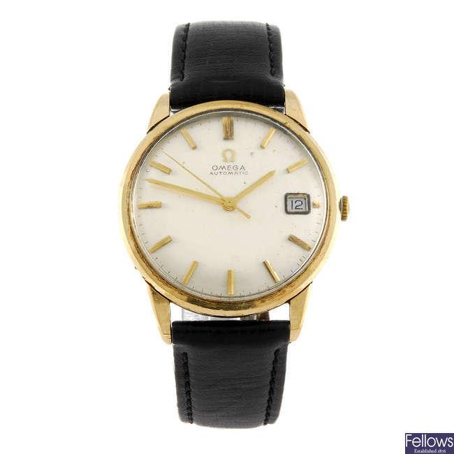 OMEGA - a gentleman's wrist watch.