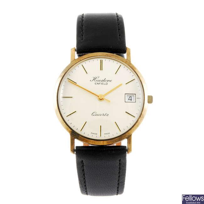 HEWSTONE - a gentleman's Enfield wrist watch.
