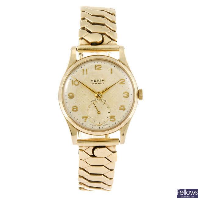 HEFIK - a gentleman's bracelet watch.