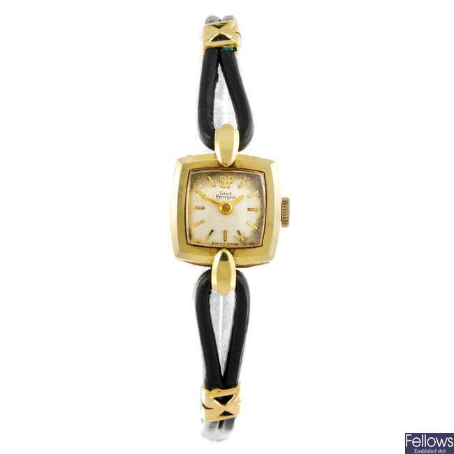 GIRARD-PERREGAUX - a lady's wrist watch.