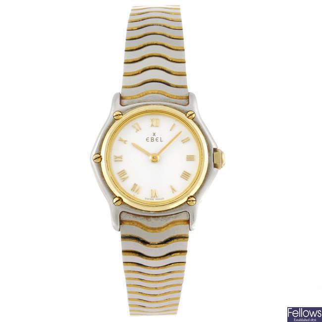 EBEL - a lady's Sport Classic bracelet watch.
