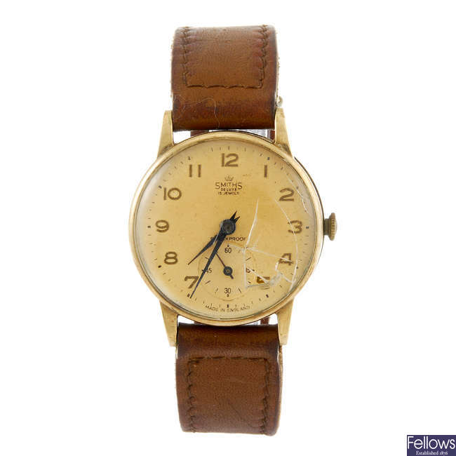 SMITHS - a gentleman's wrist watch.