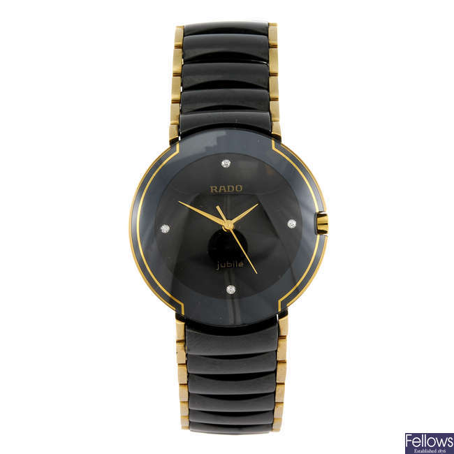 RADO - a Jubile Coupole bracelet watch.