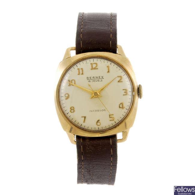 BERNEX - a gentleman's wrist watch.