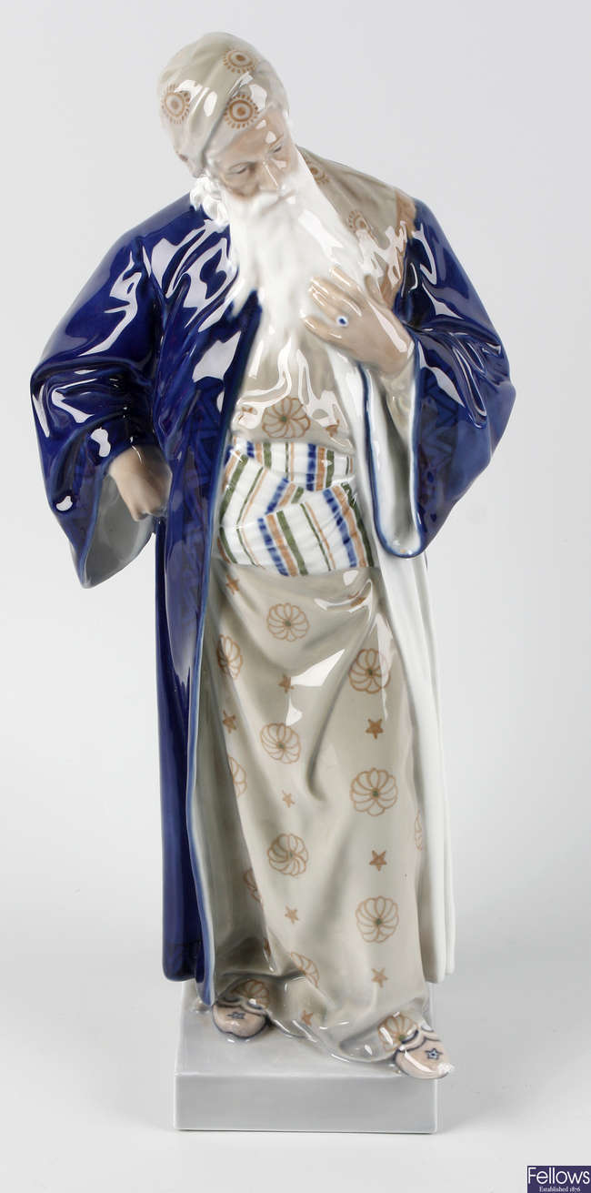 A Royal Copenhagen figure
