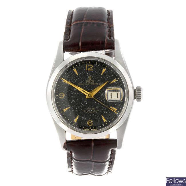 TUDOR - a gentleman's Prince Oysterdate wrist watch.