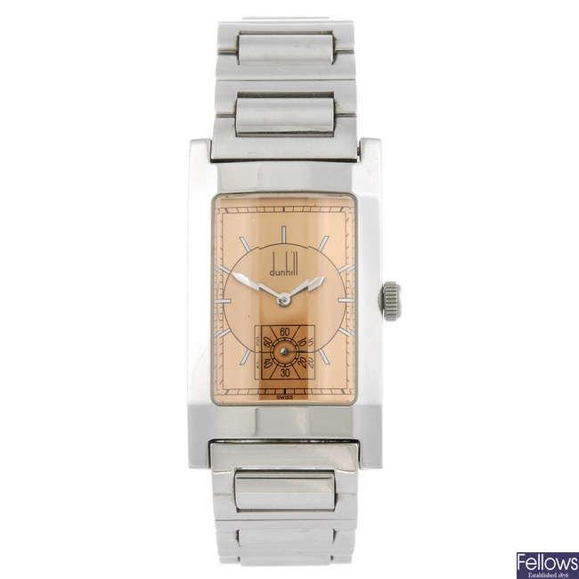 DUNHILL - a gentleman's Facet bracelet watch.