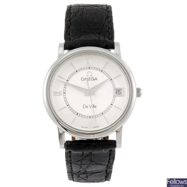 OMEGA - a gentleman's De Ville wrist watch.
