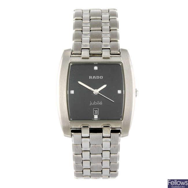 RADO - a gentleman's Florence bracelet watch.