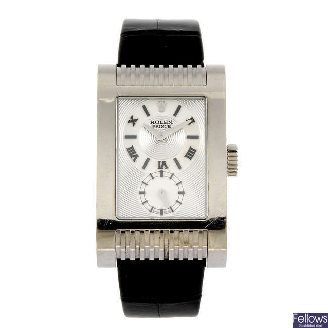 ROLEX - a gentleman's Cellini Prince wrist watch.