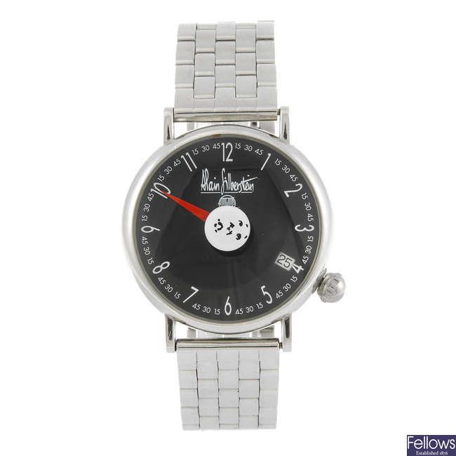 ALAIN SILBERSTEIN - a limited edition gentleman's Arkitek bracelet watch.