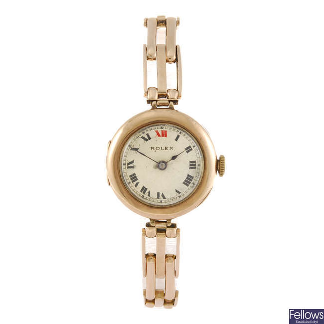 ROLEX - a lady's bracelet watch.