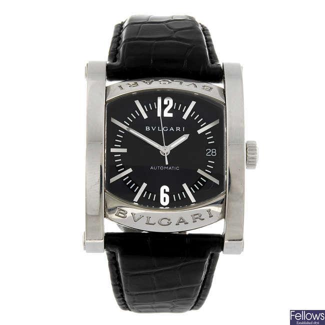 BULGARI - an automatic Assioma wrist watch.