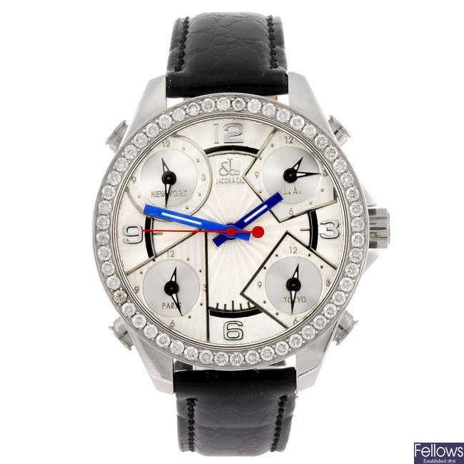 JACOB & CO - a gentleman's Five Time Zone wrist watch.