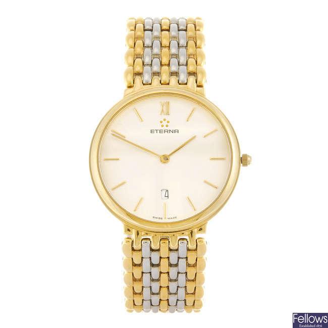 ETERNA - a gentleman's bracelet watch.