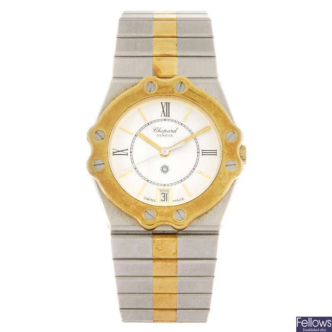 CHOPARD - a gentleman's St. Mortiz bracelet watch.