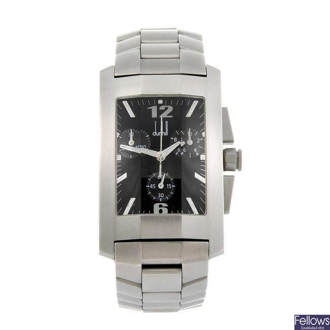 DUNHILL - a gentleman's Dunhillion chronograph bracelet watch.